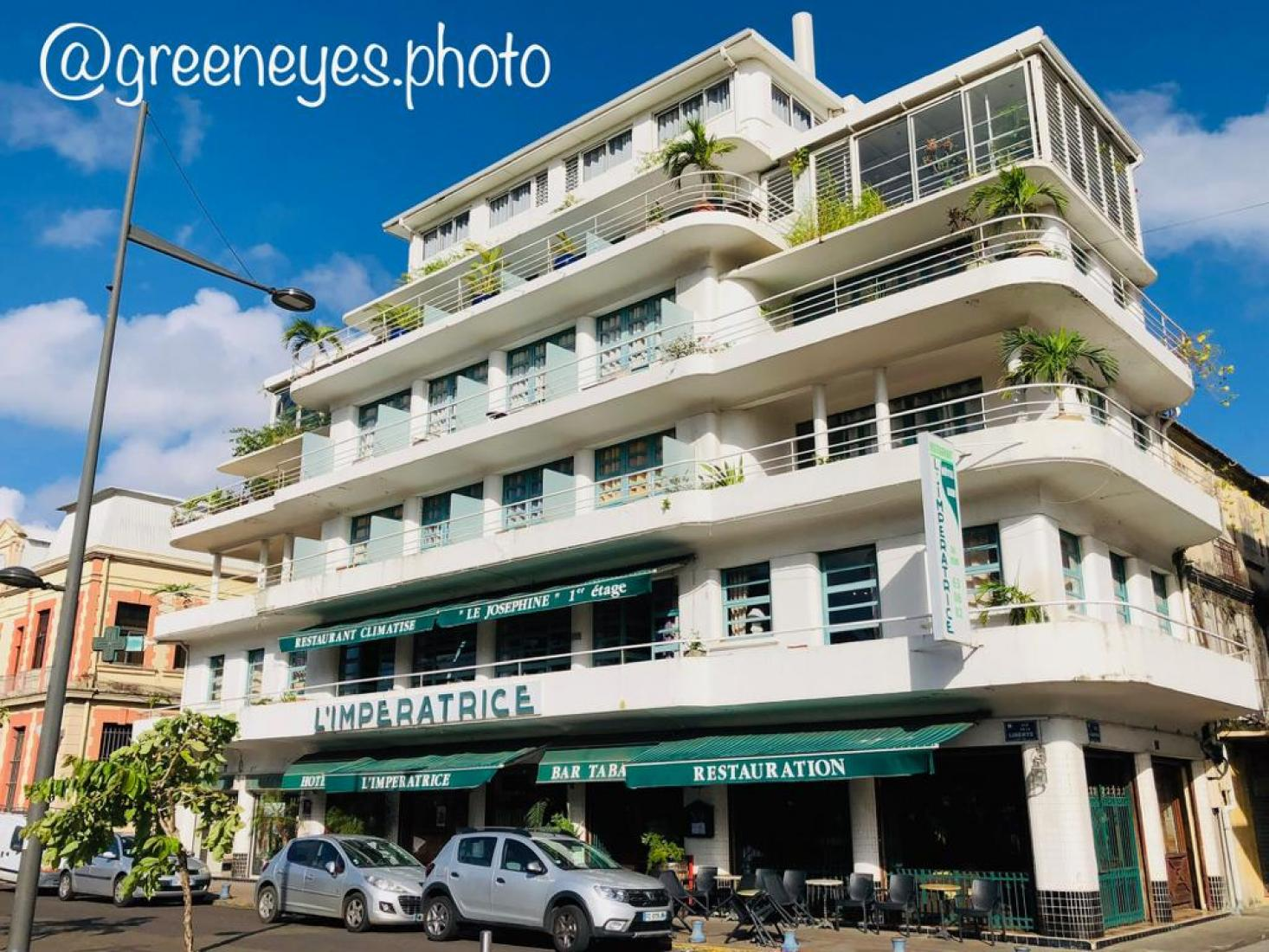 hotel l imperatrice fort de france