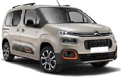 Citroen Berlingo 7 places ou similaire