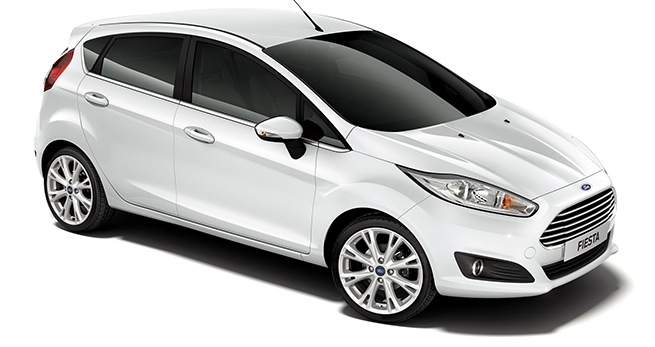 Ford Fiesta 2016 Diesel 5 Portes ou similaire
